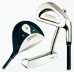 Wood (left), Iron (right) and Putter